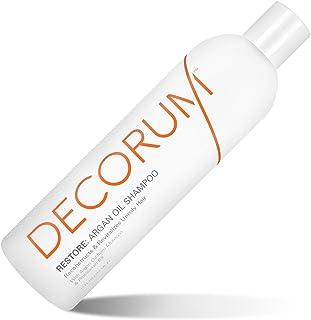 DECORUM Restore Argan Oil Shampoo,12 Ounce