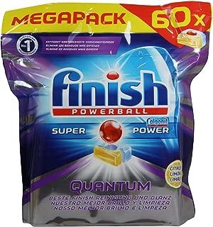 Finish Powerball Super Power Quantum Lemon Dishwashing 60 Tablets 930g