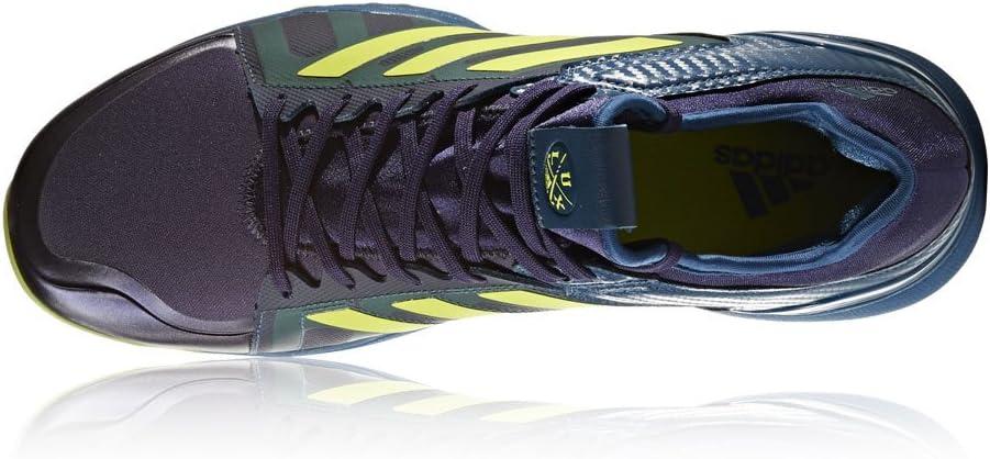 Amazon.com: adidas Lux Hockey Shoes - Blue/Yellow - UK 13 ...