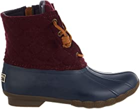 SPERRY Top-Sider Women's Saltwater Quilted Wool Rain Boot