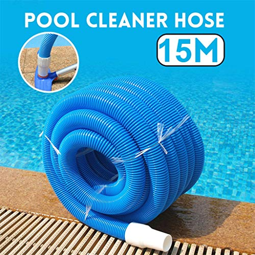 Lowest Price! Fineday Swimming, 15M Inground Swimming Pool Vacuum Cleaner Hose Suction Swimming Repl...