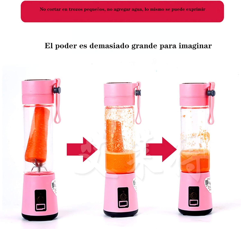 Taza Exprimidora PequeñA con Exprimidor InaláMbrico Recargable De BateríA De Gran Capacidad Adecuado para Fiestas Familiares Morado
