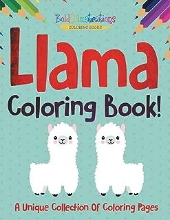 Best llama coloring page Reviews