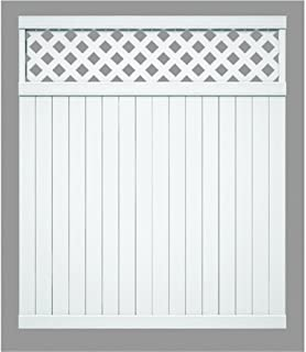 Universal Forest Products128011 Lattice Top yd Fence Section, 6'. x 6'.