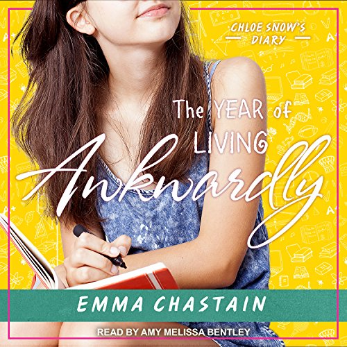 The Year of Living Awkwardly audiobook cover art