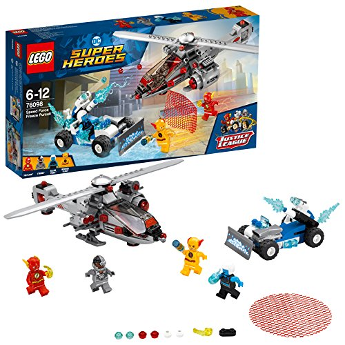 LEGO Super Heroes - Persecución Gélida Tras la Fuerza de la Velocidad (76098)