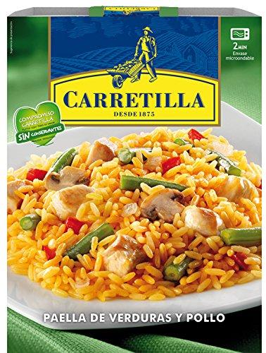 Carretilla - Paella De Verduras Y Pollo 250 g