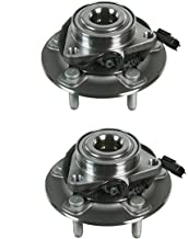 Detroit Axle - New Set (2) Front Driver and Passenger Wheel Hub and Bearing Assembly for 2012-2016 Dodge Ram 1500