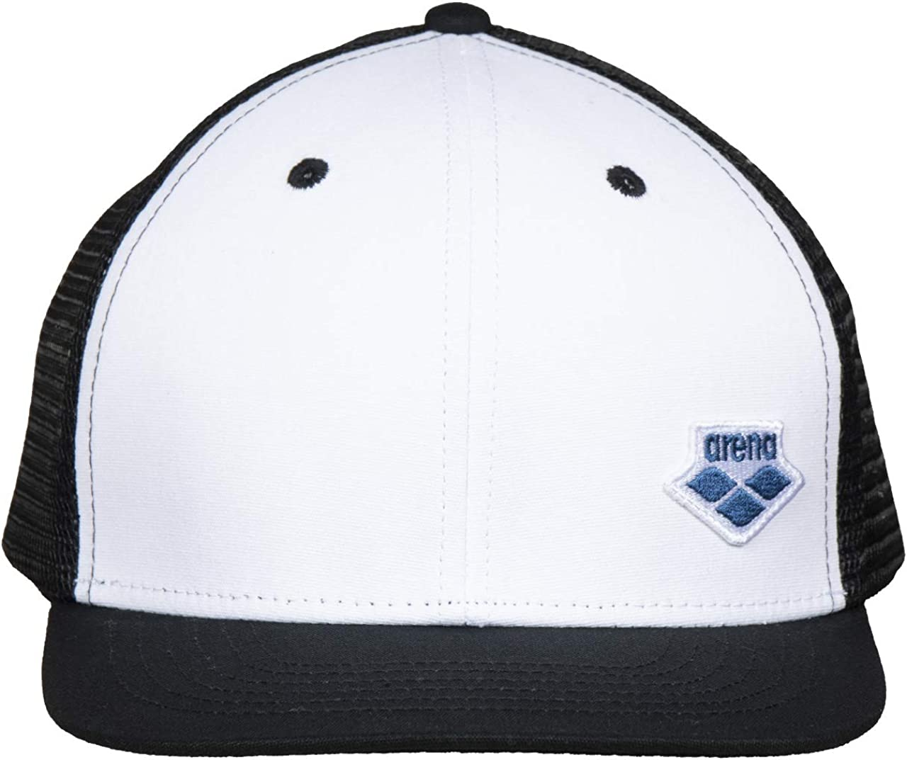 Arena Icons Cap Max 73% OFF Snap White-Black Baseball Back Hat Mail order cheap