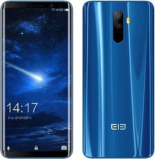 Elephone U Android 8.0 4G Smartphne、128GB ROM + 6GB RAM、1080P、5.99インチ(Blu、Elephone U)