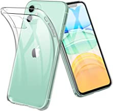 iPhone 11 ケース TopACE 超スリム クリア TPU ソフトケース 落下防止 指紋防止 【ワイヤレス充電対応】 耐スクラッチ 全面保護 初期不良対応 iPhone 6.1 2019 対応 (クリア)