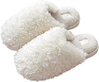 [アドグレイス] スリッパ ルームシューズ 洗える ボア あったかい 防寒 防水底 ペア 4色23~28cm 男女兼用