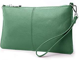 a410862ff3 Lecxci Leather Crossbody Purses Clutch Phone Wallets with Card Slots for  Women