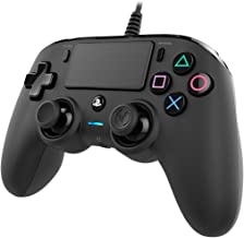 Nacon Wired Compact PlayStation 4 Controller - Black (PS4)