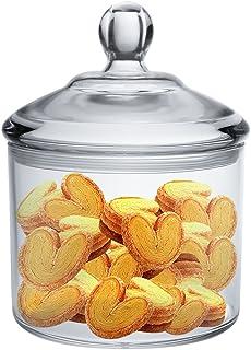 Amazon Com Cookie Jars Clear Cookie Jars Food Storage Home Kitchen