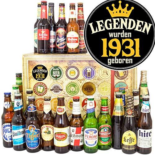 Legenden 1931/24 Biere aus aller Welt/Geschenk für den Herren/Adventskalender Bier