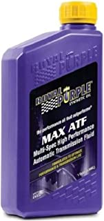 Royal Purple 06320-6PK Max ATF High Performance Synthetic Automatic Transmission Fluid - 1 qt. (Case of 6)