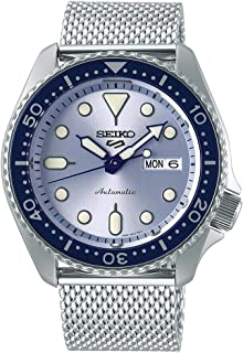 Seiko Sport 5 Facelift Automatic Stainless Steel Watch SRPE77K1 Blue