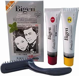 Natural Black 881 - Bigen Speedy Hair Color Conditioner
