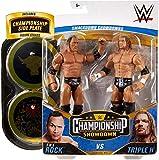 The Rock V Triple H HHH Championship Showdown Series 2 WWE Mattel figura básica de lucha libre