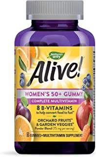 Nature's Way Alive Women's 50+ Gummy Vitamin, 60 Gummies
