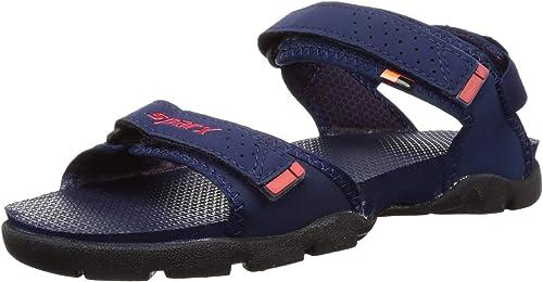 Men s N Blue Red Outdoor Sandals 8 UK 42 EU SS0119G NBRD0008