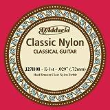 D'Addario J27H01 Première Corde d'étude seule en nylon pour guitare classique Dur