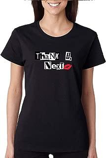Allntrends Women's T Shirt Thank U Next Cool Stuff Trendy Tee Shirt