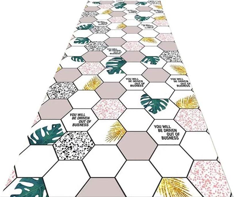 Hallway Runner Diamond Lattice Design Stair Easy-to-use Leaf 25% OFF Run Carpet Rugs
