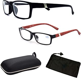 25e8ec0de1 2Pairs Fashion Women Unisex Myopia Eyeglasses Short Sighted + Free Hard  Case   Pouch
