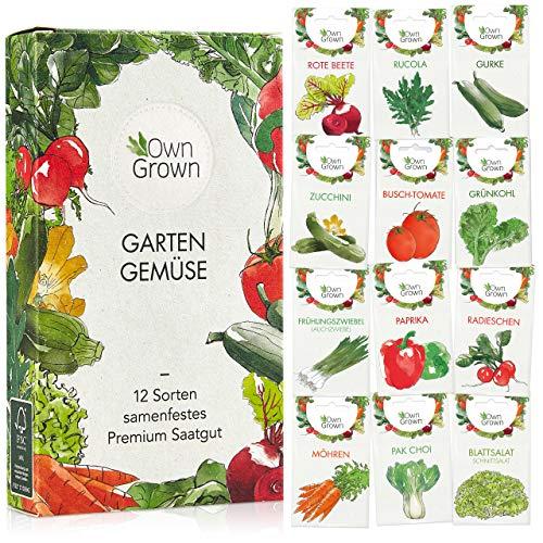 OwnGrown -  Gemüse Samen Set