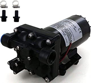 Shurflo 5059-3610-D011 Bypass 12V Diaphragm Pump with Male 1/2