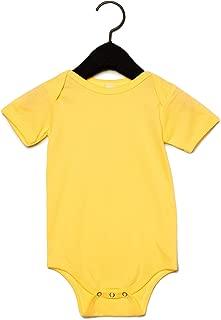 Canvas Baby Jersey Short Sleeve Onesie