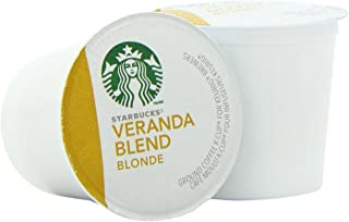 Starbucks Veranda Blend Blonde, K-Cup Portion Pack for Keurig K-Cup Brewers, 24 K-Cups (Pack of 2)