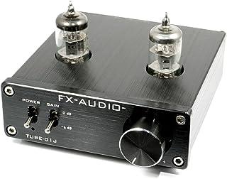 FX-AUDIO- TUBE-01J 真空管プリアンプ(ラインアンプ) NFJオリジナルモデル (ブラック)