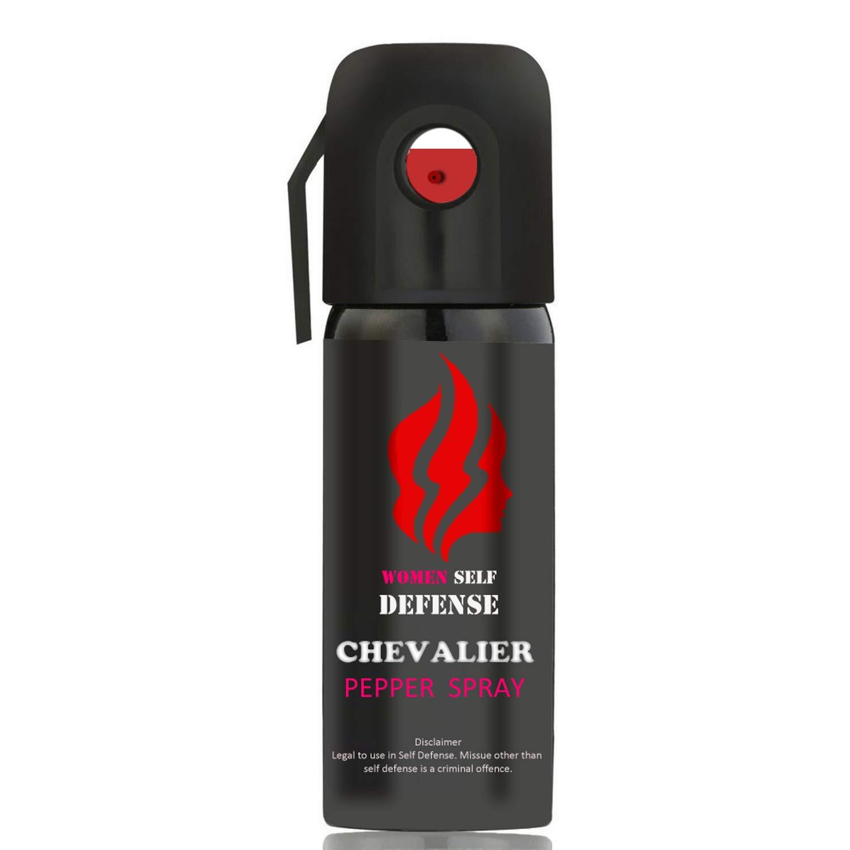 Chevalier Pepper Spray Self Defence for Women (Pack of 1)