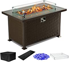 Best portable propane fire pits outdoor Reviews