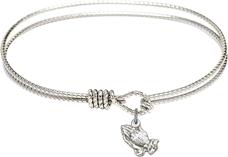 Bonyak Jewelry Oval Eye Hook Bangle Recommended in w Hands Praying Bracelet Ranking TOP1