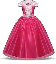 NNJXD Girls Cosplay Birthday Carnival Retro Lordliness Luxurious Princess Tulle Dress