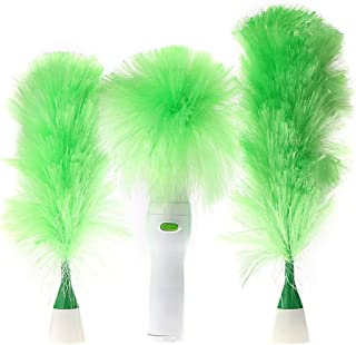 Dutch Brook Electric Motorized Cleaning Brush Feather Dusters for Blinds Furniture Keyboard Cleaning