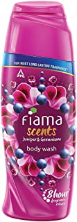 Fiama Scents Body Wash with Juniper and Geranium, Shower Gel with Skin Conditioners, 8 hour fragrance lock technology, tes...