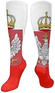 Be-ryl, Calcetines largos hasta la rodilla de moda de Polonia para mujer Medias deportivas