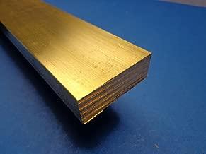 Industrial Metal Sales- - 360 1/2 Hard Brass Flat Bar 1/2