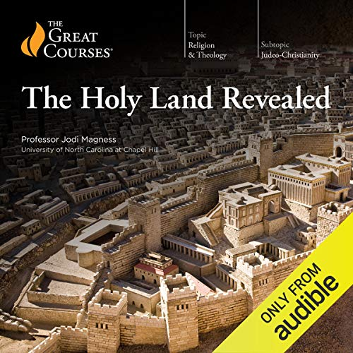 Holy Land Revealed audiobook cover art