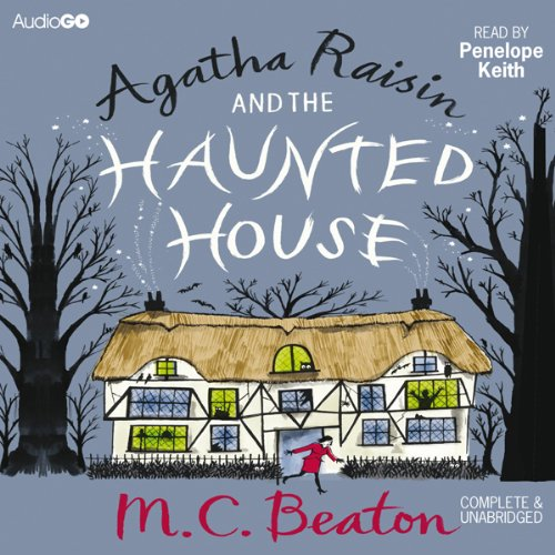 『Agatha Raisin and the Haunted House』のカバーアート