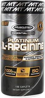 Muscletech Platinum L-Arginine - 100 Caplets