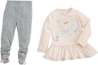 Mud Pie Kids Dream in Glitter Unicorn Fairy Girls 2 Pc Top Leggings Set
