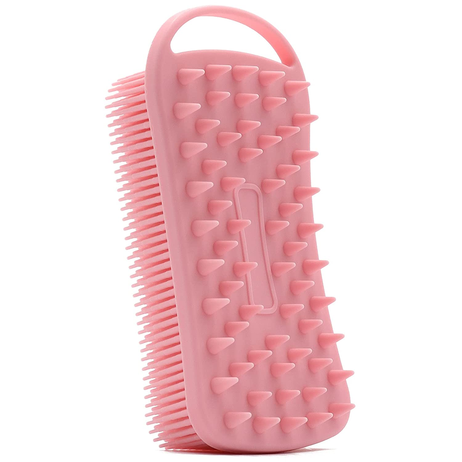 List price Silicone Body Scrubber Max 54% OFF 2 in 1 Soft Si for Shower