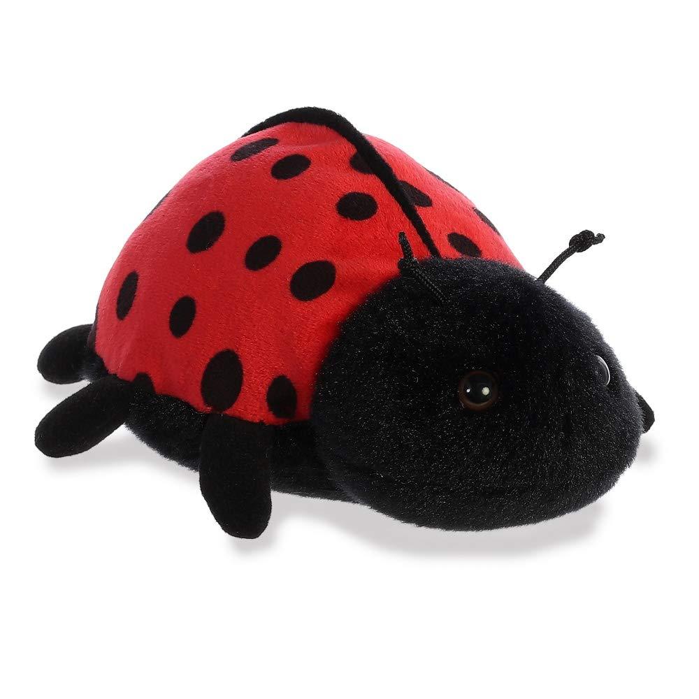 AURORA Mini Flopsies Ladybird 8In 31761 Black & Red