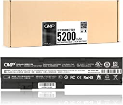 CMP 5200mAh X200 Battery for Lenovo IBM Thinkpad X201 X200S X201S X201i Series, Fits 42T4534 42T4536 42T4835 42T4647 (Cycles Charge > 800 Times)